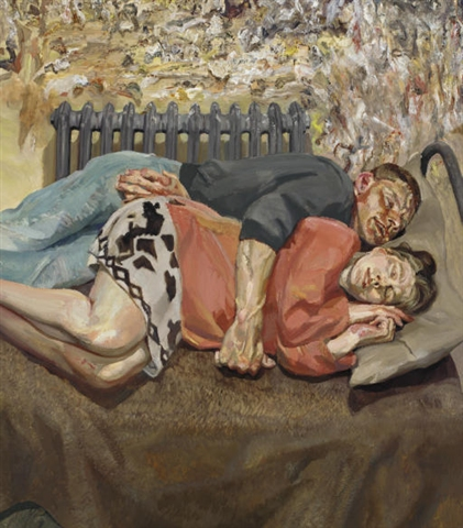 Lucian Freud: SBS2 TV, 3 February 2011, 8:30 to 9:50 pm.